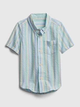 Gap Toddler Seersucker Shirt
