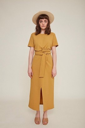 rita row - Jianna Dress 1548-VE/Mustard - S . | mustard - Mustard
