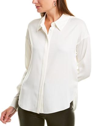 Diane von Furstenberg Leanna Silk-Blend Top