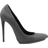 Balenciaga Grey Suede High heel