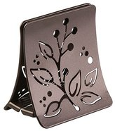 InterDesign Buco Napkin Holder for Kitchen Countertops, Table - Bronze