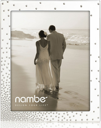 """Nambe Dazzle 8"""" x 10"""" Picture Frame"""
