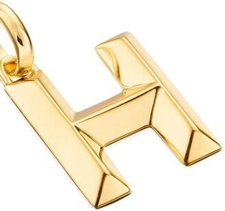 Monica Vinader Alphabet H pendant charm