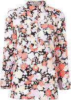 Agnona floral blouse - women - Silk/Spandex/Elastane - 40