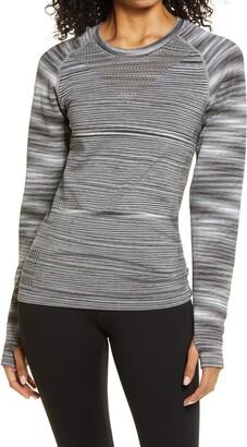 Zella Space Dye Seamless T-Shirt