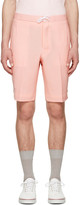 Thom Browne Pink Constructed Square Pocket Shorts