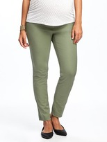 Old Navy Maternity Side-Panel Mid-Rise The Pixie Pants