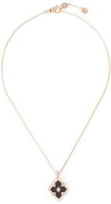 Buccellati 'Opera Color' onyx rose gold necklace