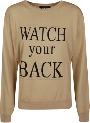 Moschino Watch Your Back Sweater