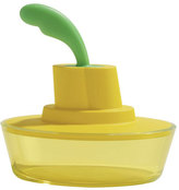 Alessi Ship Shape Butter Dish Yellow