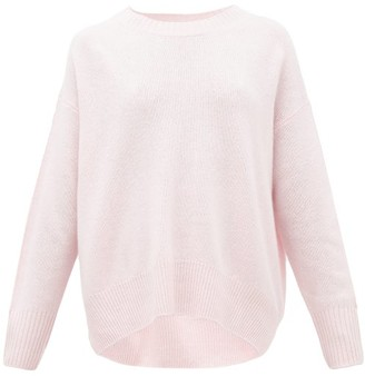 Allude Draped Cashmere Sweater - Womens - Pink