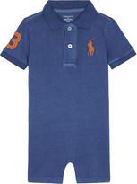 Ralph Lauren Big Pony cotton polo shortall 3-24 months