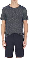 Theory Men's Striped Cotton Boatneck T-Shirt