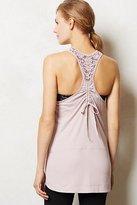 Anthropologie Pure + Good Lace Racerback Swing Tank