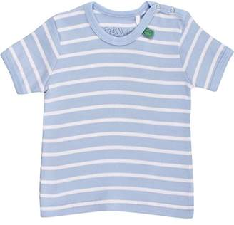 Green Cotton Fred's World by Stripe s/sl T Baby T - Shirt, Blue 015392001