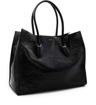 Tod's Tods Leather Shopping Bag Large