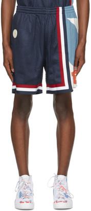 Telfar Navy Converse Edition Basketball Shorts