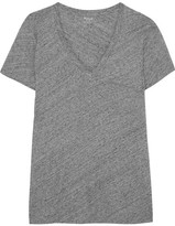 Madewell Slub Cotton-jersey T-shirt - Gray