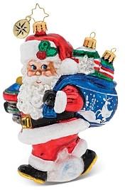 Christopher Radko Santa's Shiny Brite Collection! Ornament