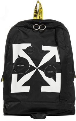 Off-White Arrows Print Backpack