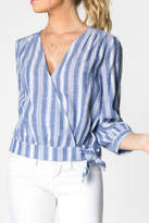 Everly Wrap Top