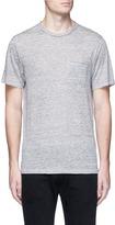 Rag & Bone 'Owen' chest pocket linen T-shirt