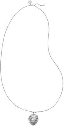 Tory Burch Walnut Locket Necklace