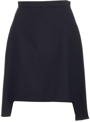 Alexander McQueen Asymmetric Hem Skirt