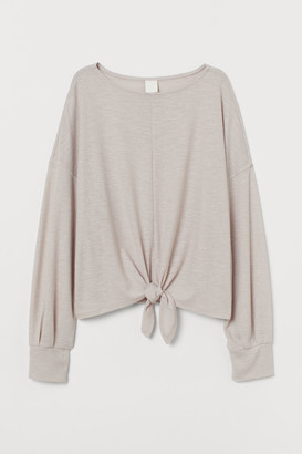 H&M Top with Dolman Sleeves - Brown