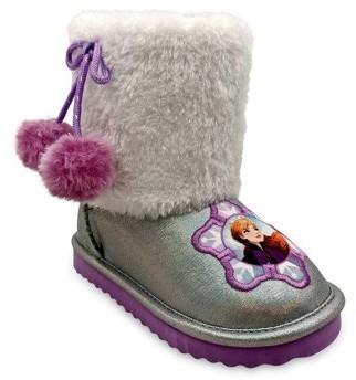 Disney Frozen 2 Anna & Elsa Cozy Faux Shearling Winter Boot (Toddler Girls)