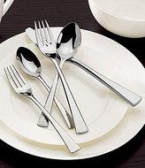 Gorham Biscayne Hammered 65-Piece Stainless Steel Flatware Set