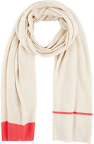 Barneys New York WOMEN'S COLORBLOCKED SCARF-IVORY