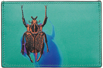 Paul Smith Green Photographic Beetle Cardholder