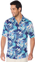 Cubavera Big & Tall All Over Hawaiian Tropical Print Shirt