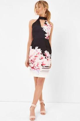 Girls On Film Floral Print Midi Dress
