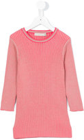Stella McCartney ribbed jumper - kids - Cotton/Acrylic - 4 yrs