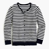 J.Crew Perfect-fit striped cardigan