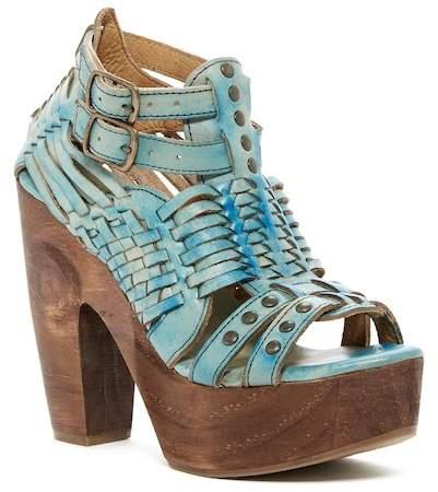 Bed Stu Bed|Stu Cindy Leather Platform Heeled Sandal
