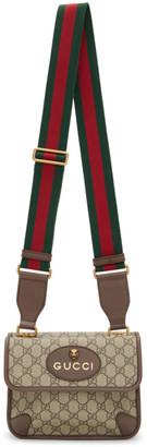 Gucci Beige Neo Vintage GG Bag