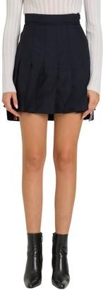 Thom Browne Pleated High Waist Mini Skirt