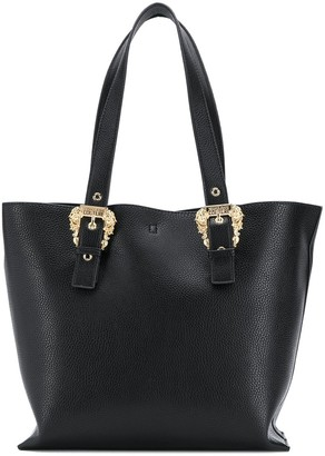 Versace Baroque Buckle Tote Bag