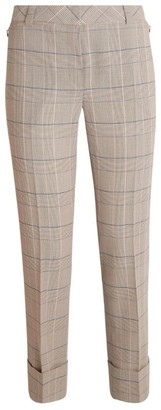 Akris Maxima Check Trousers