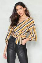 Nasty Gal Wrapped Around Your Finger Top