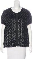 VPL Metallic Faux Fur Jacket