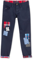 Tommy Hilfiger 5 Pocket Patches Pants, Little Boys (2-7)