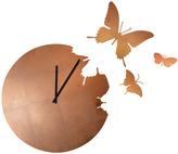 Diamantini Domeniconi Diamantini & Domeniconi Butterfly Clock Copper