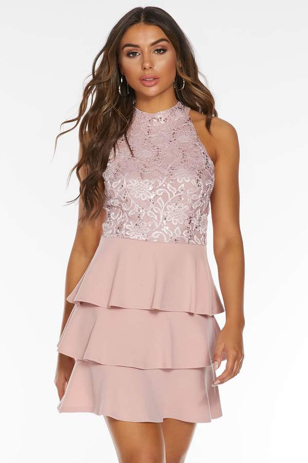 caa5d1073c9c Blush Sequin Dress - ShopStyle Australia