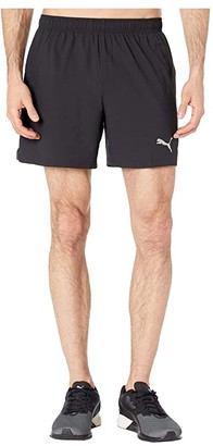 Puma Ignite Session 5 Shorts Black/Castlerock) Men's Shorts