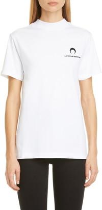 Marine Serre Oversized Logo T-Shirt