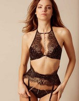 Agent Provocateur Gayle Bra Black And Gold